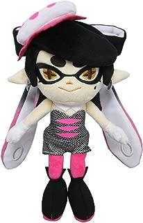 Sanei SP03 Splatoon Series Callie Pink Squid Sister Stuffed Plush, 10