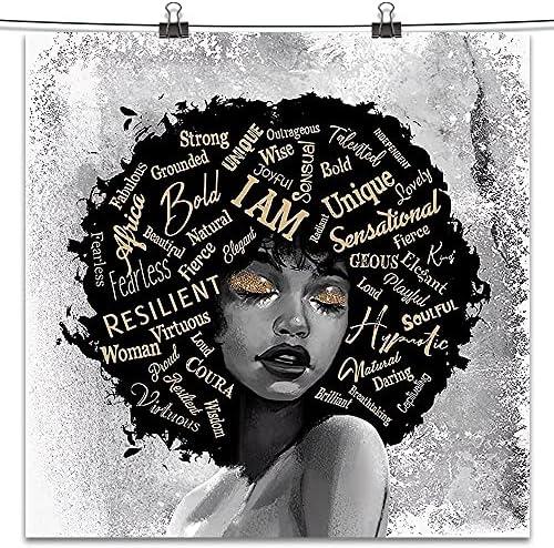 Afro wall art _image0