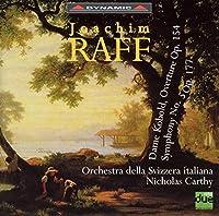 ラフ:交響曲第5番「レノーレ」/「ダーメ・コボルト」 序曲(スイス・イタリア管/カーシー)
