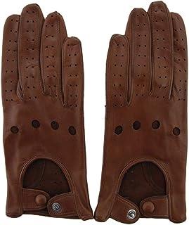 Luxury Fashion   Sermoneta Gloves Womens SG06GUIDADONNA4080 Brown Gloves   Season Permanent