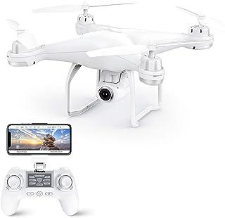 Potensic Drone GPS, Drone con Cámara 1080P HD con Follow Me, 120º Gran Angular, RTF Altitude Hold, Modo Sin Cabeza y Retor...