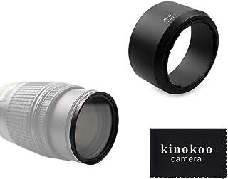 kinokoo 58 mm UV Filter Kameraobjektiv Zubehörsatz für Nikon D5600/D5300/D3400/D3500, UV Schutzfilter + Kit mit umkehrbarer Gegenlichtblende(B)