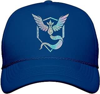 FUNNYSHIRTS.ORG Metallic Mystic Trainer Hat: Snapback Trucker Hat