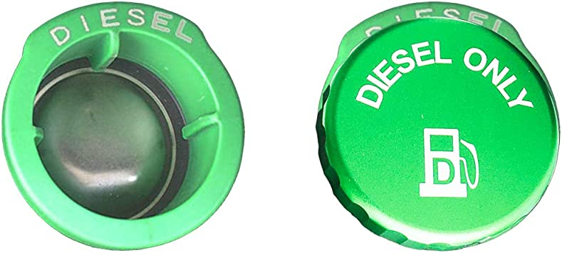 Amazon.com: Aluminum DIESEL cap ONLY fit 2019-2020 Latest Dodge Ram 1500  2500 3500 …(There are three vertical plastic posts at the fuel filler):  Automotive