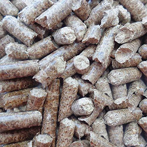 SMMO 9 Sacchi di Pellet Italiano Legno di Faggio 135 kg