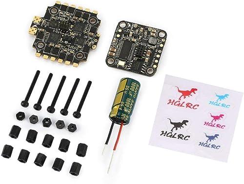 las mejores marcas venden barato HGLRC XJB F440 F4 Controlador Controlador Controlador de Vuelo OSD 4in1 40A Blheli_S ESC para RC Drone ToGames-ES  precios bajos