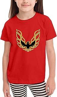 Trans Am Firebird Logo.png 2-6T Toddler Girls Cotton T-Shirt Causal Shirts Tops