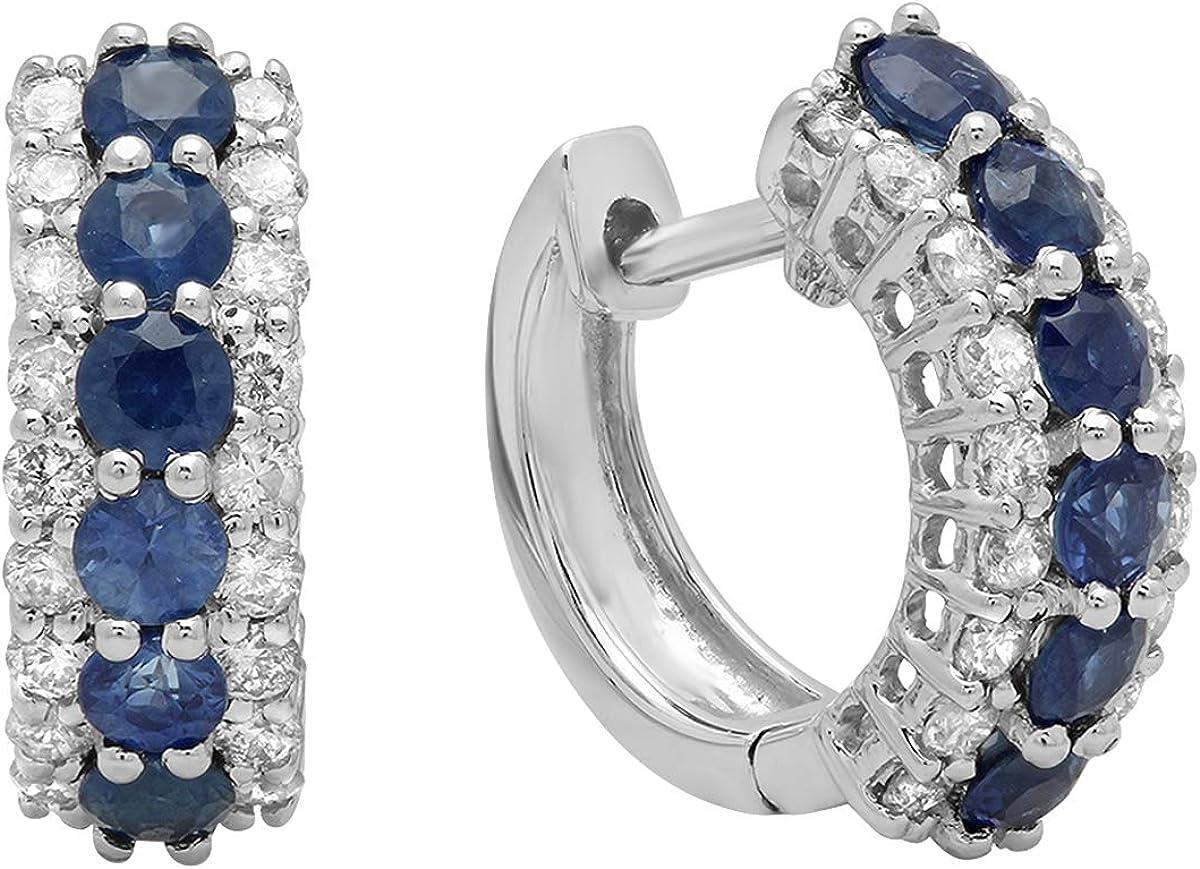 Dazzlingrock Collection 14K Round Diamond Ladie Max 61% OFF Gemstone White Purchase