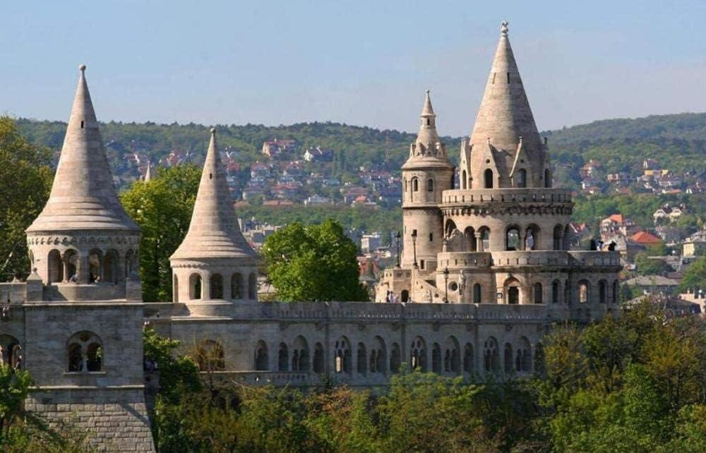 YHKTYV Arquitectura del Castillo De Praga 120 Piezas Rompecabezas De Madera Educational Game Brain Challenge Juguetes De Entretenimiento Moderna para El Hogar Únicos