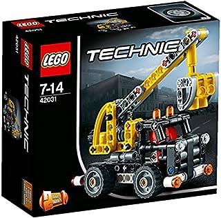 LEGO - Camión con Plataforma elevadora, Multicolor (42031)