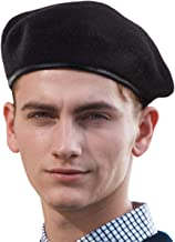 British Military Berets for Men - Women Warm Knit Beret Hat Winter Hat Soft