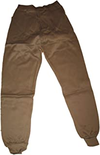Genuine US Military Issue PolyPro ECWCS Thermal Bottoms, Cold Weather Gear