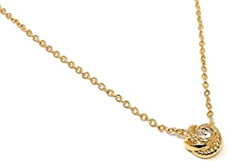 Infinity & Beyong Knot Gold Plated Charm Pendant Necklace