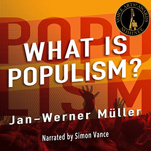 Couverture de What Is Populism?
