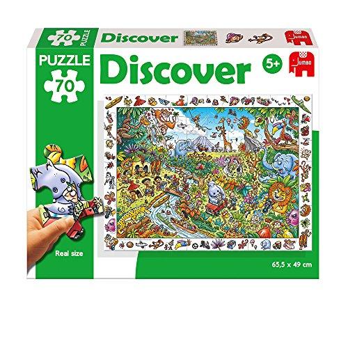 Diset - Puzzle con temática de Safari, 70 Piezas (69986)