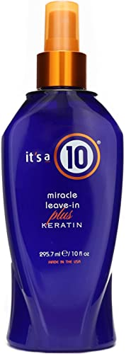 It's a 10 Haircare Miracle Leave-In Plus Keratin Spray, 10 fl. oz.