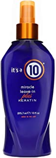 It's a 10 Haircare Miracle Leave-In plus Keratin, 10 fl. oz.