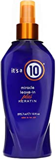 It's a 10 - Miracle Leave-In Plus Keratin Spray, 10 oz.
