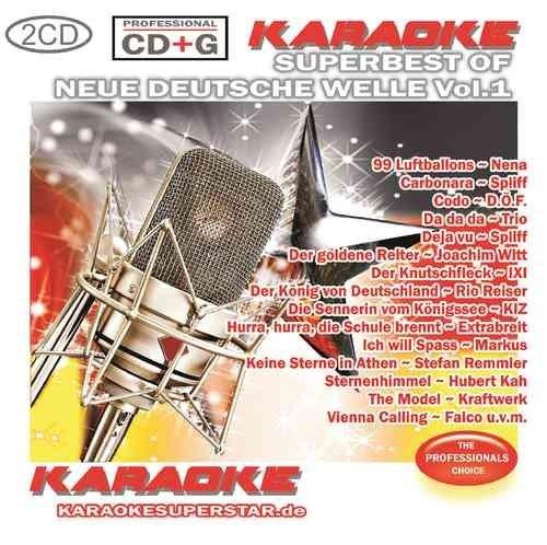 Superbest of Neue Deutsche Welle Vol. 1 - 2 CD+G