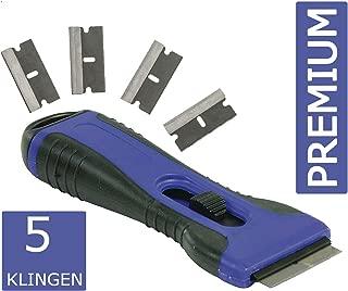 Rascador para vitrocerámica universal Eurosell Premium / limpiador ergonómico, rasqueta  limpiadora de vitrocerámica