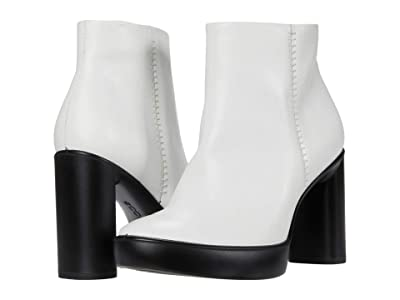 ECCO Shape Sculpted Motion 75 Ankle Boot (Bright White) Women