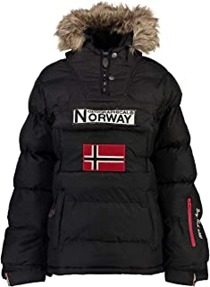 Geographical Norway Chaqueta Mujer Anson Negro M