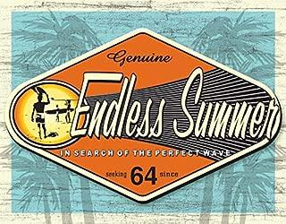 Desperate Enterprises Endless Summer Tin Sign, 16