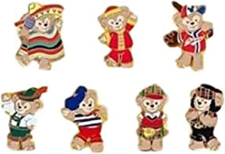 Walt Disney Duffy the Bear Pin# Super beauty Long Beach Mall product restock quality top Mini-Pin Collection 845 -