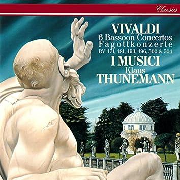Vivaldi: 6 Bassoon Concertos