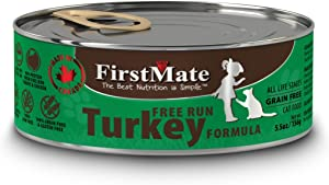 Firstmate Pet Foods Can Turkey Cat Food, 5.5-Ounce, 24 Cans