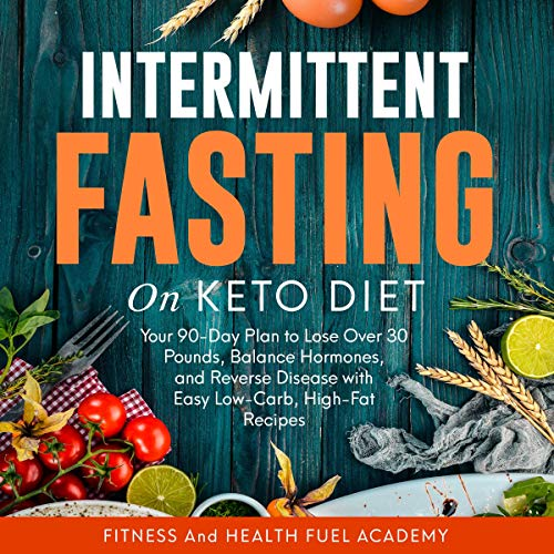 Intermittent Fasting on Keto Diet audiobook cover art