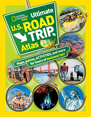 Compare Textbook Prices for National Geographic Kids Ultimate U.S. Road Trip Atlas: Maps, Games, Activities, and More for Hours of Backseat Fun 3/21/12 Edition ISBN 9781426309335 by Boyer, Crispin