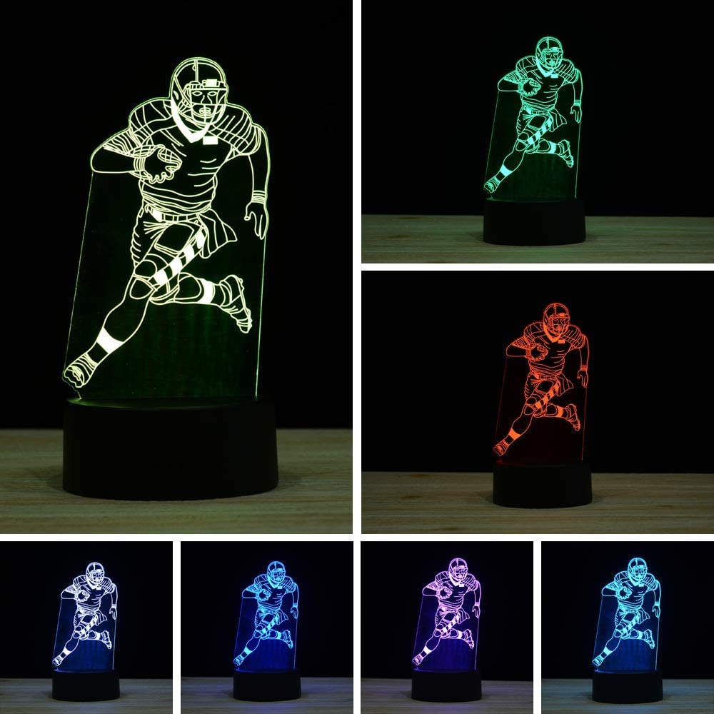 3D Branded goods Illusion LED Night Light 16 Swi 2021 model Colors Changing Gradual Touch