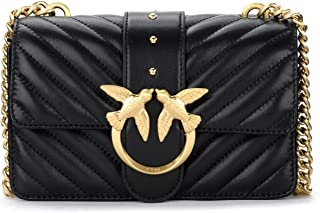 1P22BW.Y7FY Z99 Negro Limousse Pinko - Bolso de mujer Love Mini Icon V Quilt 3 - PINKO