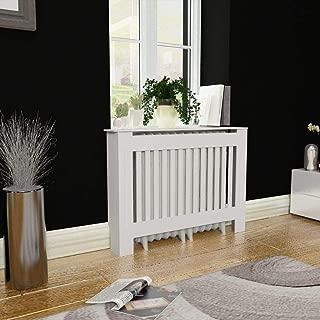 Topfire White MDF Radiator Cover Heating Cabinet 44