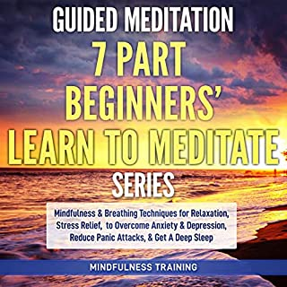 Guided Meditation: 7 Part Beginners' Learn to Meditate Series cover art