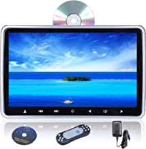 Camecho 10.1 Inch Headrest Car DVD Player Dual Portable Universal Vehicle Headrest Monitor Support 1080P Video with HDMI I...