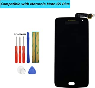 Upplus Display LCD di Ricambio Compatibile per Motorola Moto G5 Plus XT1685 XT1686 XT1687 Display LCD Touch Screen Digitiz...