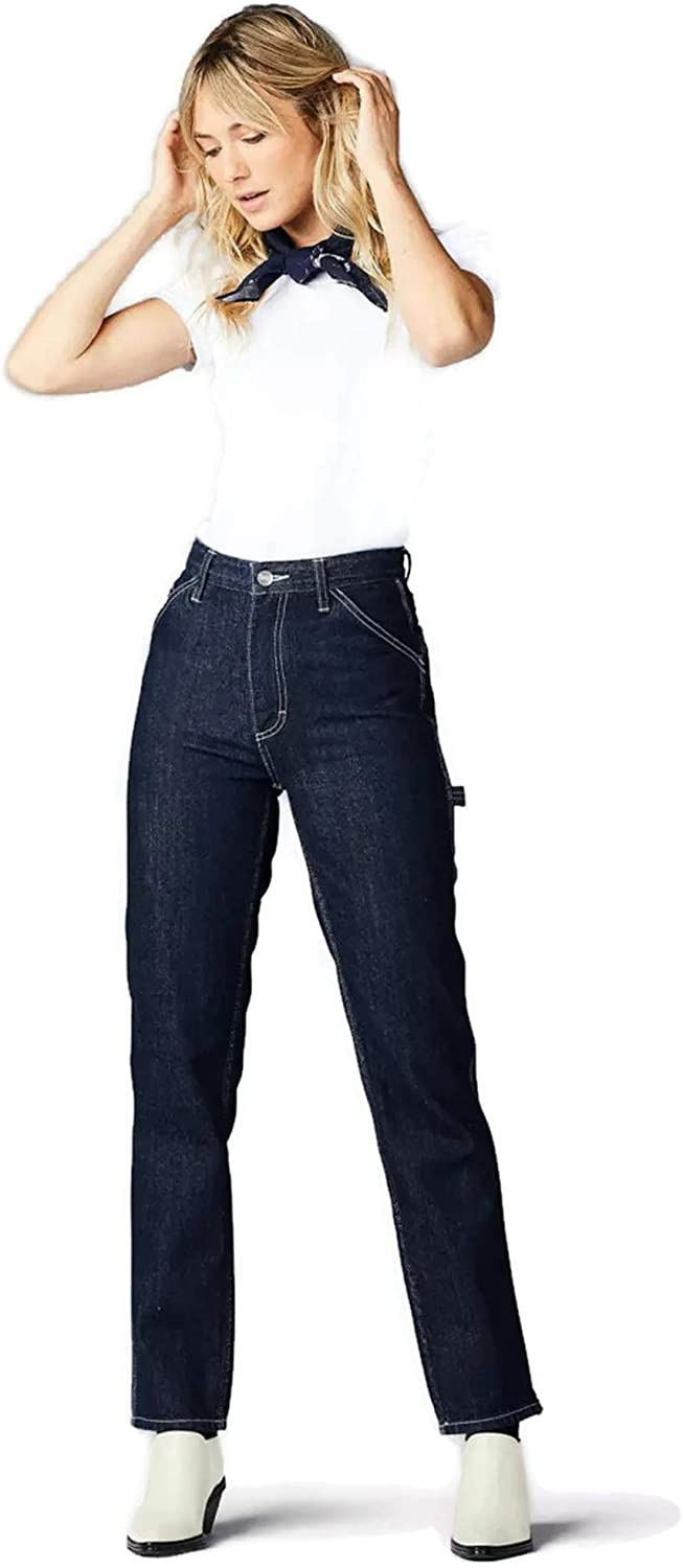 Lee Vintage Modern Women's High Rise Dungaree Ankle Jeans
