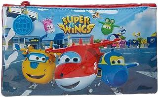 Super Wings Airport Pennenetui, meerkleurig, 22 x 12 cm, polyester