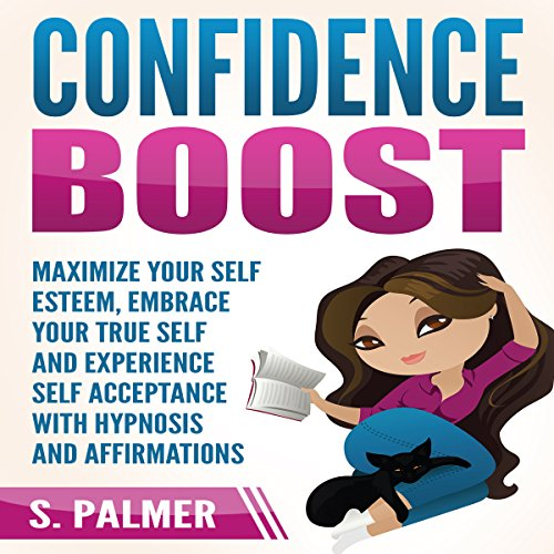 Confidence Boost audiobook cover art