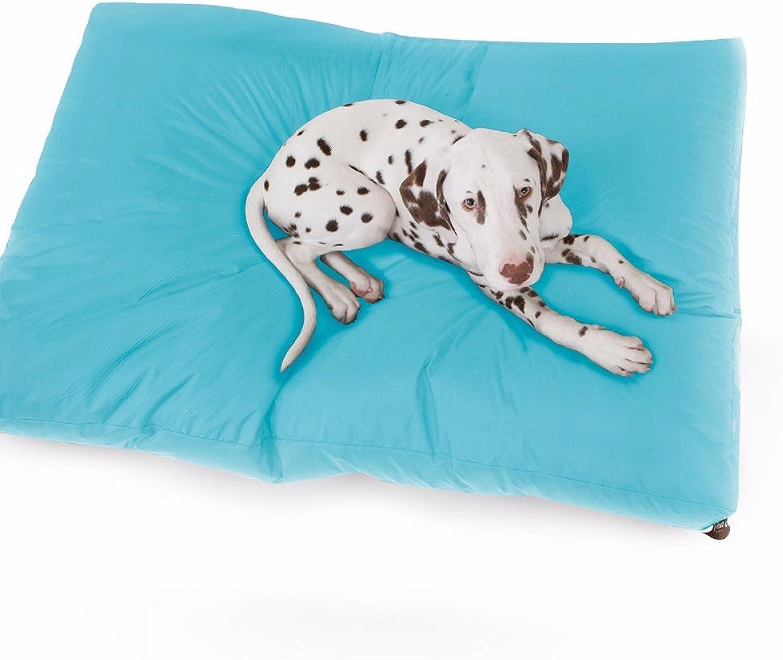 venta con alto descuento Rucomfy Bean bags Trend Trend Trend Pet Bed - Aquamarine - Medium (100 cm x 75 cm x 15 cm)  Envío 100% gratuito
