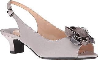 J. Renee Women's Leonelle Low Heel Open Toe Slingback