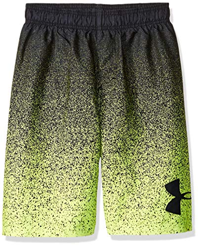 Under Armour Jungen Volley Fashion Swim Trunk Badehose, Schwarz-s192, XL