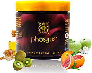phos4us - Hair Retarding Cream (Natural Hair Retarder) Hair Minimizer and Vanishing Cream (After Waxing, Hair Removing and Post Threading Cream for Men and Women) 100gm (Hair Inhibitor 3.53 OZ)