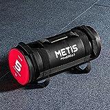 Metis Sac Lesté de Crossfit - Poids de 5kg, 10kg, 15kg, 20kg & 25kg | Sac de Musculation pour Squat Training - Matériel de Fitness à Domicile/Gym (15kg)