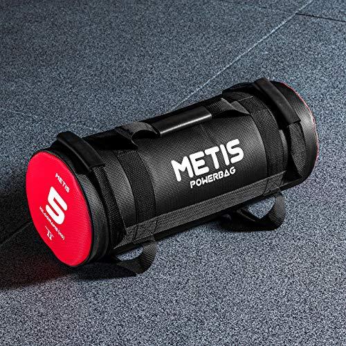 Metis Sac Lesté de Crossfit - Poids de 5kg, 10kg, 15kg, 20kg & 25kg   Sac de Musculation pour Squat Training - Matériel de Fitness à Domicile/Gym (5kg)