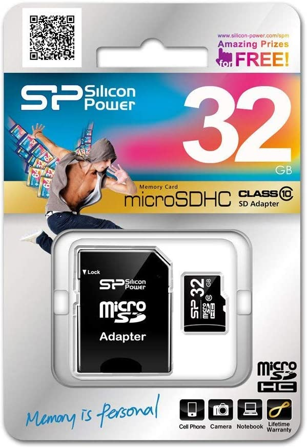 Silicon Power Sp032gbsth010v10 Sp Class 10 Micro Sdhc Computer Zubehör