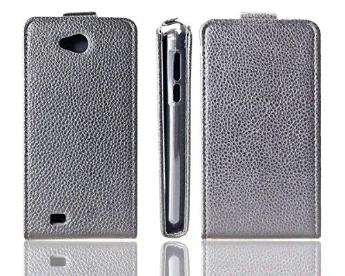 caseroxx Flip Cover für Medion Life E4503, Tasche (Flip Cover in schwarz)