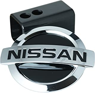 DanteGTS Nissan Frontier 2 Tow Hitch Cover Plug Engraved Billet Black Powder Coated